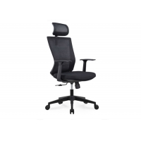 Quality Classic Black Computer Swivel Mesh Office Chair for sale