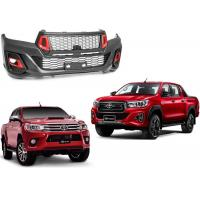 Quality Replacement Body Kits TRD Style Upgrade Facelift for Toyota Hilux Revo and Rocco for sale