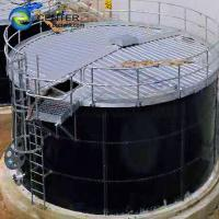 Buy cheap Expandable Porcelain Enameled Steel Industrial Water Tanks AWWA D103-09 OSHA ISO from wholesalers
