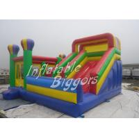 Quality Colored Giant Toys Inflatable Bouncy Castles For Kindergarten Playground , ASTM F963 for sale