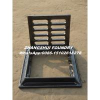 Buy trench cover cast iron cover and grating , at wholesale prices