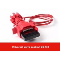 Quality Universal Valve Lockout with 1.8M Cable Attched to Lock Out Valves for sale
