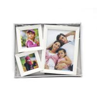 Quality White Gallery Wall Picture Frames , Eco Friendly Large Multi Photo Frames for sale