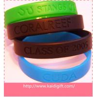 Rubber High Quality Sports Silicone Bracelets For Gift