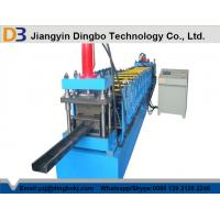 Buy cheap Compressive Strength , Flatness Z Purlin Roll Forming Machinery with 15 Rows Rollers from wholesalers