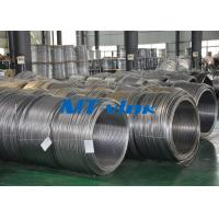 Quality Seamless Pickled Stainless Steel Coil Pipe / Coiled Tubing For Instrument for sale