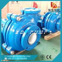 Quality AH high chrome alloy A05metal liner slurry pump centrifugal mining pumps horizontal single stage pump for sale