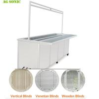 Quality Fast Speed Industrial Ultrasonic Washing Machine For Wood / Vertical Blinds Remove for sale