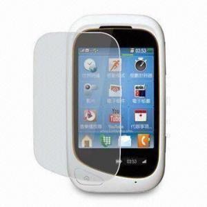 China Anti-glare/Anti-fingerprint Screen Protector for Motorola EX232, Made of PET Material on sale