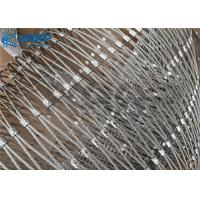 Quality Stainless Steel Woven Wire Mesh With Ferrules for sale