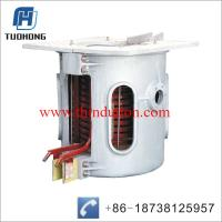 China Steel iron scrap medium frequency induction melting furnace on sale