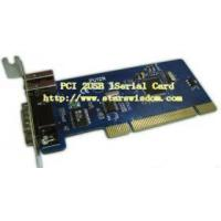 Quality PCI USB 2.0 2 ports + 1 Serial Port Card for sale