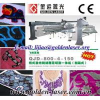 Quality Laser Computerized Embroidery Machine Price for sale