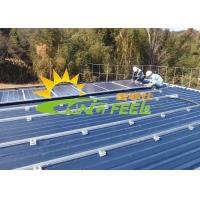 Quality Stainless Pitched Roof Mounting System 60m/S Max Wind Speed for sale