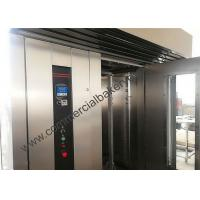 Quality High Efficient Rotating Bread Oven , Diesel Power Hot Air Rotary Oven for sale