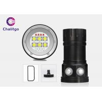 Quality Underwater Ultra Bright LED Flashlight Diving Lamp 18000LM Button Switch for sale