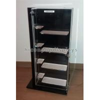 Quality Retail Shop Clothing Store Fixtures Brand Name Shoes Display Cabinet With 4 Shelves for sale