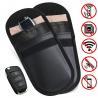 Buy cheap Car Key Signal Blocker Case, Key less Entry Fob Guard Signal Blocking Pouch Bag, from wholesalers