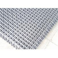 Quality Quartz Crusher Plant Accessories Crimped Anti-clogging Screen Mesh With Hook for sale