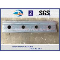 China BS80A ASTM and DIN Railroad Joint Bars Railway Fish Plate With 4 Hole , 6 Hole on sale
