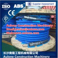 Quality plastic coated wire rope manufacturers,dragline plastic coated wire rope,Shovel Wire Rope for sale