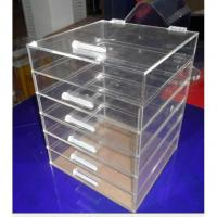 Quality clear PVC Clear Acrylic Boxes for Packing Cosmetics for sale