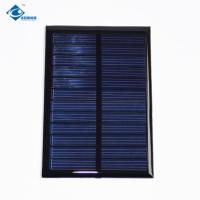 China 0.65 W 6 Volt cheapest solar panel photovoltaic ZW-8960 Environmental Friendly Epoxy Resin Panels glue on sale