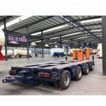Quality 8 Axle Heavy Duty Modular Lowboy Semi Trailer 100 150 200 Ton Hydraulic Modular for sale