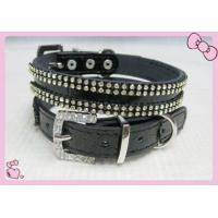 Quality Crystal Pet Collar Dog Collar Leash for sale