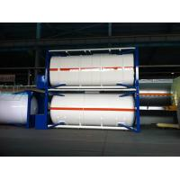 Quality ISO 30Ft , 40Ft Liquid Storage Tank Container Stainless Steel For Logistic Shipping for sale