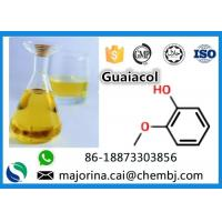 Quality CAS 90-05-1 Guaiacol Liquid Flavor And Fragrance 2- Methoxyphenol Food Additives Pale Yellow Oil Liquid for sale