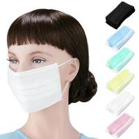 Quality 3 Ply Disposable Earloop Face Mask Non Woven Surgical Mask Eco Friendly for sale