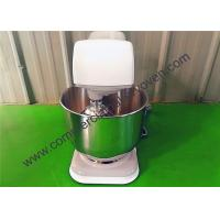 Quality 7L Sliver Electric Cake Mixer Stainless Steel Gear Driven Drive System for sale
