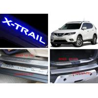 Quality NISSAN X-TRAIL 2014 2017 Tail Gate and Side Door Sill Steel Scuff Plates for sale