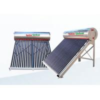 China High Density Portable Solar Water Heater With Aluminum Alloy Frame on sale