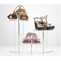 Quality Customizable Clear Acrylic / Plexiglass Shoes Display Rack Manufacture in China for sale