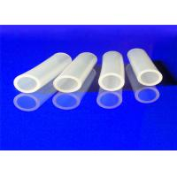 Quality Heat Resistant Transparent Food Grade Silicone Pipe Non Discoloring for sale