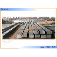Quality High quality Crane End Carriage Steel Crane Rail Hot Rolled  with fast shipping for sale