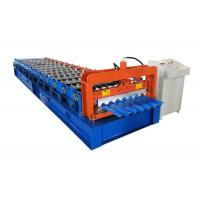 Quality Trapezoidal Sheet Metal Roll Forming Machines Single Layer Type Easy Installation for sale