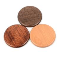 China Wood Qi Wireless Charging Pad For Phone , Customized promotional Gifts Qi Fast Charger on sale