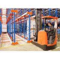 Quality Radio Shuttle Racking System High Density Pallet Storage for sale