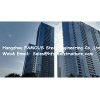 Galvanized Light Steel Multi Storey Steel Frame Buildings H Shaped Column
