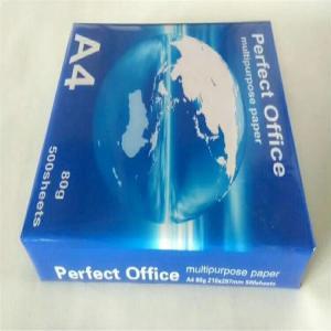 Quality Original PaperOne A4 paper one 80 gsm 70 gram Copy Paper for sale