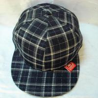 China Simple Grid Six Panel 100% Cotton Twill Cap/ with Anything Snapback Hat (TF-Sn187) on sale
