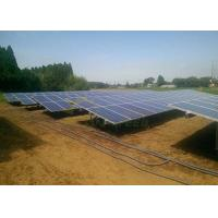 Quality Flexible Ballast  Ground Mount Solar Racking System 5m for sale