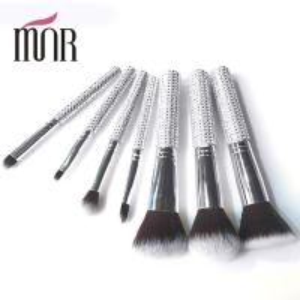 Buy cheap Bling Bling Travel Makeup Brushes , Rhinestone 7 Pcs Face Makeup Brush Set from Wholesalers