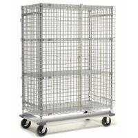 Quality Foldable Stainless Steel Wire Security Storage Truck For Factory Spare Parts Capacity 500-1200kg for sale