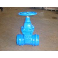 Quality Socked End Gate Valve Factory &Carbon Steel with zinc plated for sale