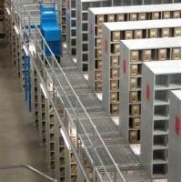 Quality FIFO 1 – 4 Tons / Layer Warehouse Steel Shelving For Icehouse Storage for sale