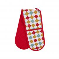 hand protect cotton double oven mitt 175 80cm customized heat resistant